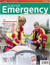 Cover Elsevier Emergency. EKG - Von basic bis advanced.