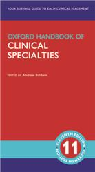 Cover Oxford Handbook of Clinical Specialties
