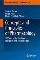 Cover Concepts and Principles of Pharmacology