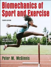 Cover Biomechanics of Sport and Exercise