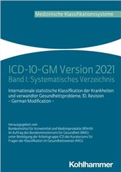 Cover ICD-10-GM Version 2021