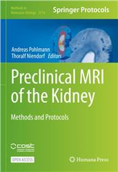 Cover Preclinical MRI of the Kidney: Methods and Protocols