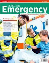Cover Elsevier Emergency. Pädiatrischer Notfall. 5/2020