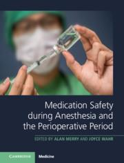 Cover Medication Safety during Anesthesia and the Perioperative Period