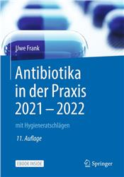 Cover Antibiotika in der Praxis 2021 - 2022