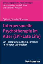 Cover Interpersonelle Psychotherapie im Alter (IPT-Late Life)