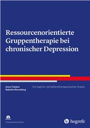 Cover Ressourcenorientierte Gruppentherapie bei chronischer Depression