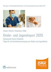 Cover DAK Kinder- und Jugendreport 2020