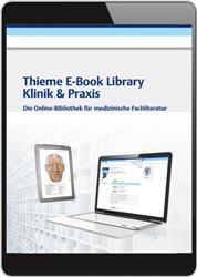 Cover Thieme E-Book Library Klinik & Praxis (Online-Datenbank)