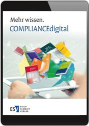 Cover COMPLIANCEdigital.de - Online Datenbank