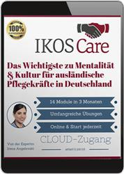 Cover IKOS Care (Online-Training)