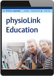 Cover physioLink Education (Online-Datenbank)