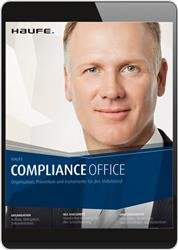 Cover Haufe Compliance Office Online (Online-Datenbank)