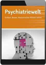 Cover Psychiatriewelt (Online-Datenbank)