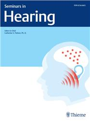 Cover Seminars in Hearing