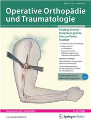 Cover Operative Orthopädie & Traumatologie
