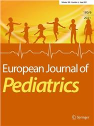 Cover European Journal of Pediatrics
