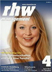 Cover Rationelle Hauswirtschaft rhw management