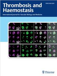 Cover Thrombosis and Haemostasis