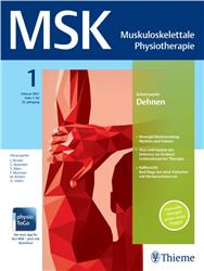 Cover MSK - Muskuloskelettale Physiotherapie