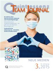 Cover Quintessenz - Team - Journal