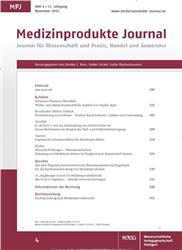 Cover MPJ Medizinprodukte Journal