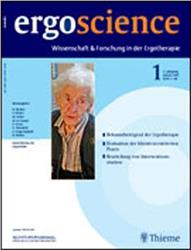 Cover Ergoscience