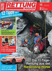 Cover Rettungs-Magazin