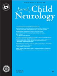 Cover Journal of Child Neurology