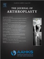Cover Journal of Arthroplasty