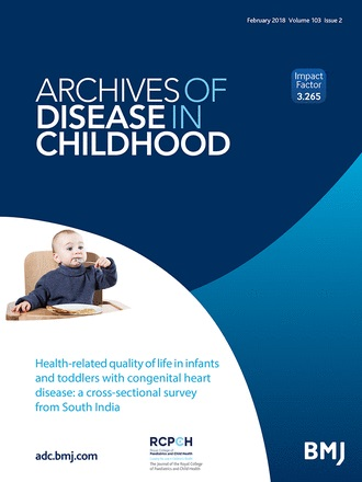 Archives of Disease in Childhood