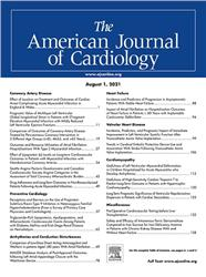 Cover The American Journal of Cardiology