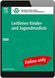 Cover Leitlinien Kinder- und Jugendmedizin - Online Datenbank